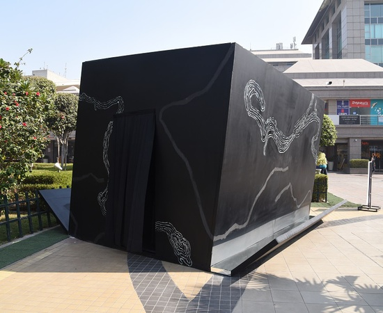 <p><em>For every horizon you leave behind (prologue to Heart of Silence), </em>part of the PUBLICA exhibition in New Delhi at Select City Walk Mall in Saket.</p>